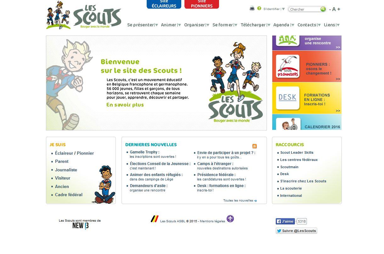 Les Scouts Belge