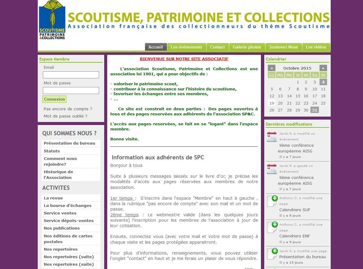 Scoutisme, patrimoine et collections